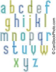 """mód, 70's, """"echo"""", retro, font., csíkos, szed"""