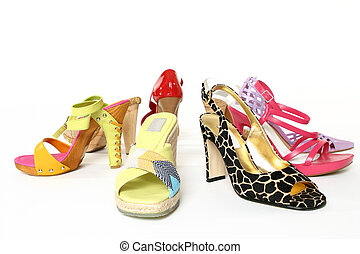 mód, cipők