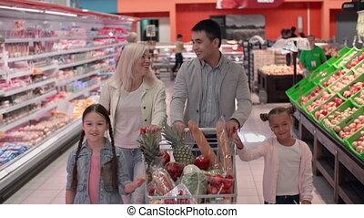 móka, bevásárlás