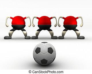 móka, futball