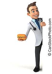 móka, orvos