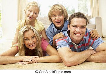 móka, otthon, együtt, család, birtoklás