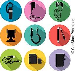 móvel, acessórios, para, telefone
