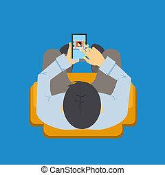 móvel, app