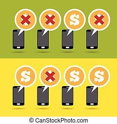 móvel, lucro, perda
