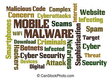 móvel, malware