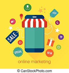 móvel, marketing