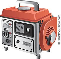 móvil, generador