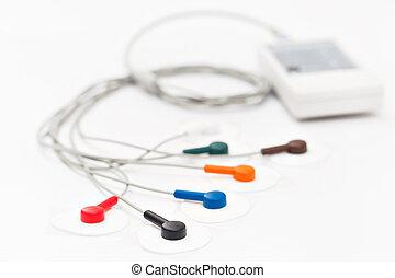 móvil, portátil, aparato, o, dispositivo, el, unidad de...