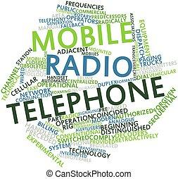 móvil, radio, teléfono