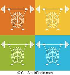 mózg, pociąg, twój