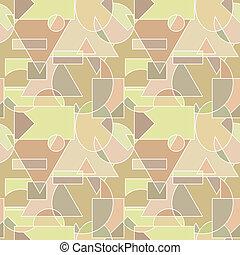 mönster, abstrakt, -, seamless, struktur, vektor