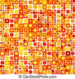mönster, abstrakt, seamless