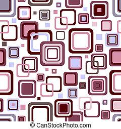 mönster, abstrakt, vit, (vector), seamless