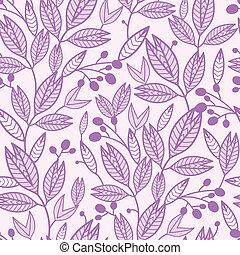 mönster, bladen, seamless, bakgrund, randig, bär