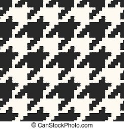 mönster, brocket, houndstooth