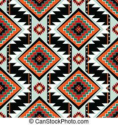 mönster, första, seamless, nationer