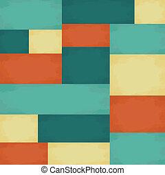 mönster, geometrisk, seamless