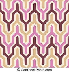 mönster, geometrisk, seamless, sparre