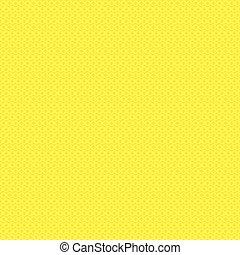 mönster, gul, seamless, struktur
