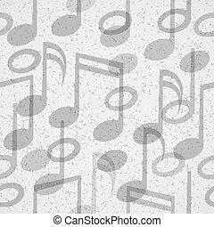 mönster, musik, seamless