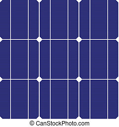 mönster, photovoltaic, vektor, seamless