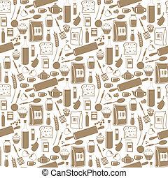 mönster, produkter, seamless