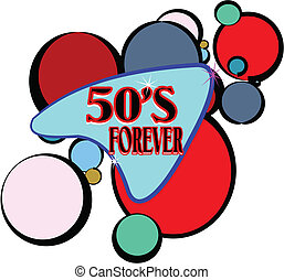 mönster, retro