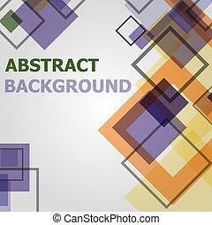 mönster, sammandrag formge, bakgrund, geometrisk, minimal