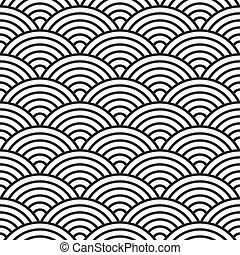 mönster, seamless, (vector)