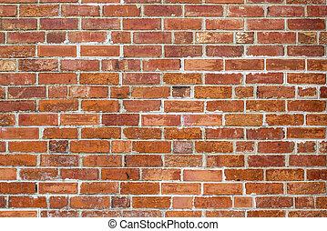 mönster, struktur, brickwall