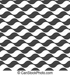 mönster, vågig, stripes, seamless