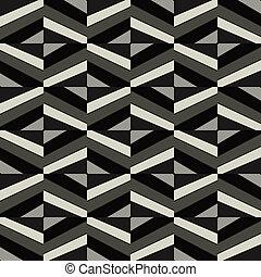 mönster, vektor, bakgrund, seamless, tapet