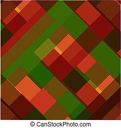 mönster, vektor, seamless, kök, pläd