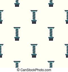 mönster, verktyg, spiral, seamless