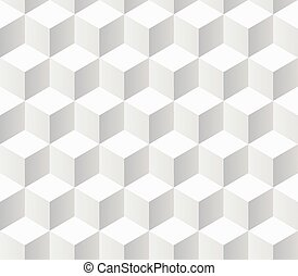 mönster, vit, geometrisk, prov