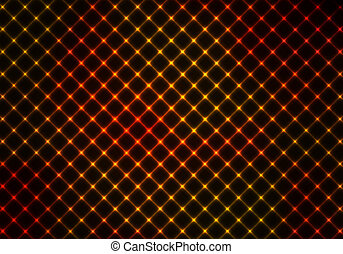 mörk, apelsin, abstrakt, bakgrund
