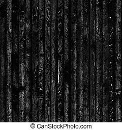 mörk, ved struktur