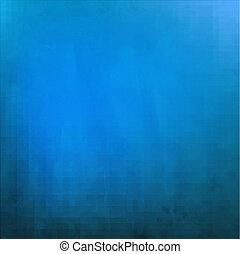 mörkblå, grungy, struktur