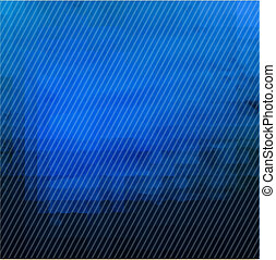 mörkblå, struktur