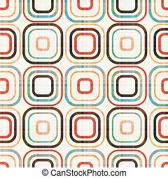 mønster, abstrakt, seamless, geometriske