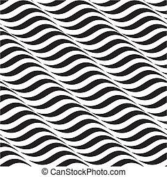 mønster, abstrakt