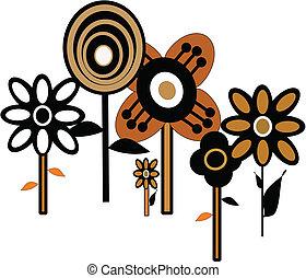 mønster, blomst magt