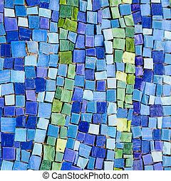 mønster, colourful, mosaik