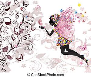 mønster, fairy