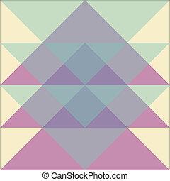mønster, geometriske