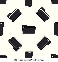 mønster, isoleret, illustration, gråne, baggrund., vektor, seamless, brochuren, hvid, ikon