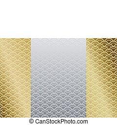 mønster, japansk
