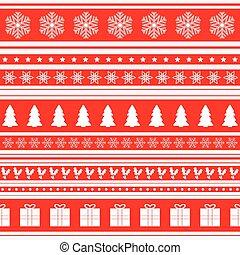mønster, jul, baggrund