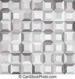 mønster, konkret, grunge, indvirkning, seamless